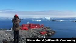 Вид на антарктическую станцию Хенераль-Бернардо-О'Хиггинс