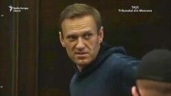 """Navalnîi în instanță: """"Eu lupt cum pot. Nu vor putea pune la închisoare milioane și sute de mii"""""""