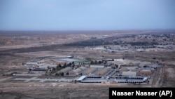 نمایی از پایگاه هوایی عین الاسد در استان غربی انبار در عراق