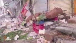 Reuters показало відео очевидців наслідків авіаударів Росії на півночі Сирії (відео користувачів)