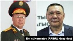 Рыскелди Мусаев и Кенешбек Дуйшебаев.