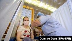 Punct de vaccinare în Chișinău