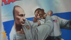 Russians Purchase Putin Paraphernalia