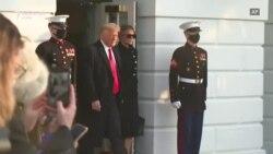 Trump largohet nga Shtëpia e Bardhë