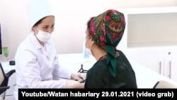 "Illýustrasiýa suraty. Türkmenistanyň ""Altyn Asyr"" telekanalyndan alnan surat."