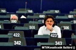 Deutsch Tamás Európai Parlament plenáris ülésén