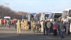 Azad edilən ukraynalı əsirlər (Video)