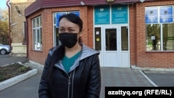 Ираида Ислямгалиева после оглашения приговора. Уральск, 2 ноября 2020 года.