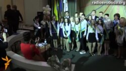 Київські школи вже святкують «останній дзвоник»