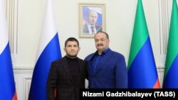 Хабиб Нурмагомедов и недавно назначенный глава Дагестана Сергей Меликов