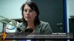 Јозет Тајхузен претставник на жените од Холандија во ОН