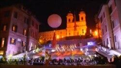 В Риме после реставрации открылась Испанская лестница