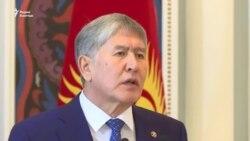 Атамбаев: Надеюсь, что народ Узбекистана выберет президентом Мирзиеева