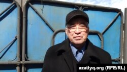 Бекболат Утебаев, активист из Уральска