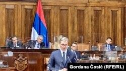 Președintele Serbiei Aleksandar Vučić