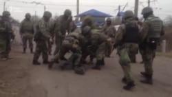 СБУ розібрала «редут» блокадників у Кривому Торці (відео)
