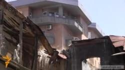 Աֆրիկյանների ակումբի շենքի ապամոնտաժումը ժամանակավորապես դադարեցվեց