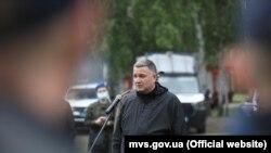 Міністр внутрішніх справ України Арсен Аваков нещодавно відвідував навчання службовців відомства. Харківська область, 5 червня 2021 року