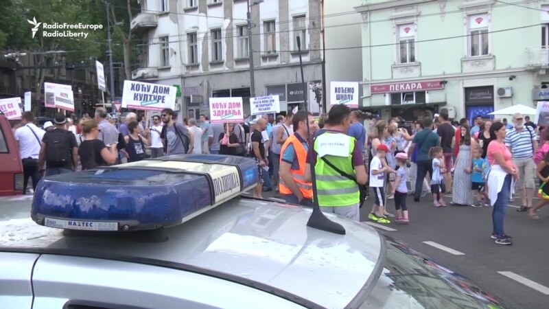 Belgrade Residents Protest New Church Construction