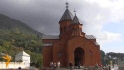 Открытие храма Армянской Апостольской Церкви в Абхазии