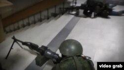 Парламент Криму. Будівля зсередини. 27 лютого 2014 року