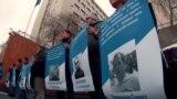 У Києві активісти вимагають офіційних переговорів щодо звільнення всіх «в'язнів Кремля» (відео)