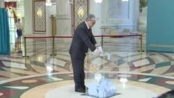 Казакстанда президенттик шайлоонун жүрүшү