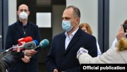 Македонскиот министер за здравство Венко Филипче