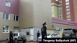 Больница скорой помощи в российском городе Омске, где находится Алексей Навальный.
