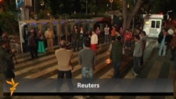 Polis İstanbulda dinc aksiyaçıları saxlayıb