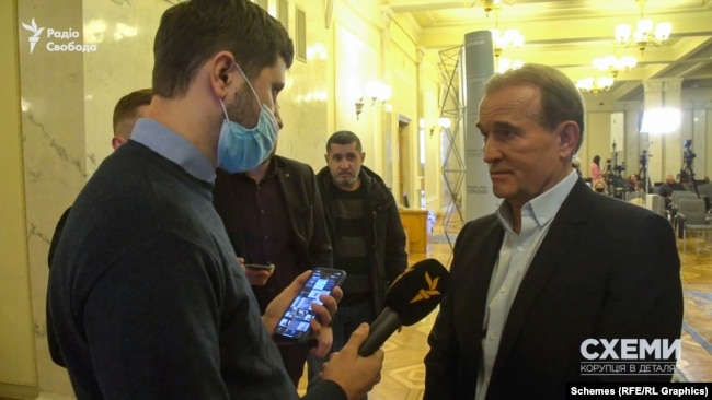 «Схемам» вдалося поспілкуватися із Віктором Медведчуком