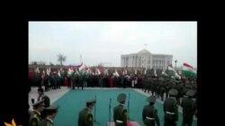 Таҷлил аз Рӯзи Парчами миллӣ дар Душанбе