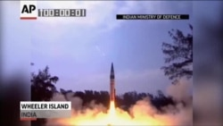 India Launches Long-Range Missile