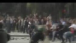 Moldovada etiraz aksiyasının videogörüntüləri