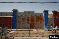 Хотанга жакын жайгашкан Каракаш районундагы күчөтүлгөн тартиптеги түрмө. 28-апрель, 2021-жыл.