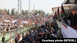گردهمایی مردم کابل در حمایت از روند صلح افغانستان