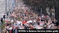 Минск, национален штрајк