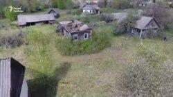 Відэа беларускай Чарнобыльскай зоны з дрона