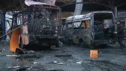 В Донецке снаряд попал в автобусную станцию, есть погибшие