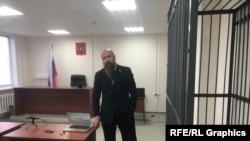 Eduard Șmonin în instanță