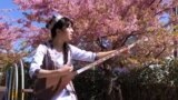 Машью из Японии исполняет таджикские песни под дутар