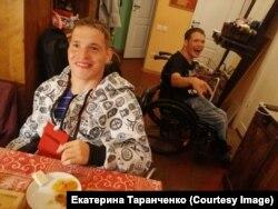 Яша и Саша в гостях у Екатерины Таранченко