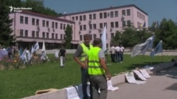 Sarajevo: Demobilisani borci i dalje pred Vladom