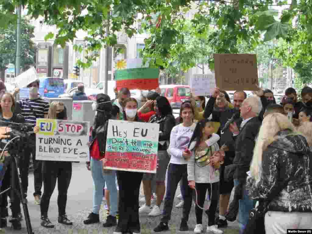 Протест на българи в Берлин на 16 юли 2020 г.