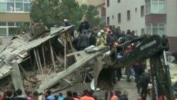 У центрі Стамбула обвалився восьмиповерховий житловий будинок, є жертви – відео