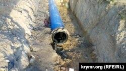 Инкерманский водозабор в Севастополе, 7 января 2021 года