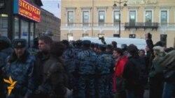 Стратегия-31 в Петербурге: бадминтон и пингвин