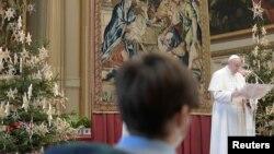 "Papa Franjo šalje tradicionalnu poruku ""Urbi et Orbi"", 25. decembar, 2020."