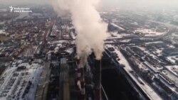 """""""Cerul Negru"""" - Aerul îngrozitor din Krasnoyarsk"""