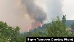 Илустративна фотографија - Пожар во делчевскиот регион.